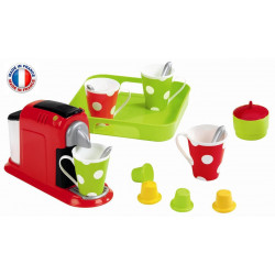 Ecoiffier - Set expresso - dînette - jeu d'imitation - 2614 - Made in France