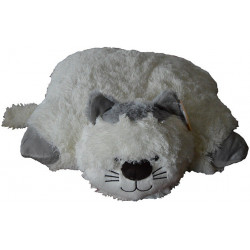 La Galleria - Coussin pillow Chat - 45 cm - Peluche - RIC-07461