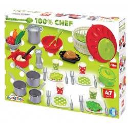 Ecoiffier - Coffret cooking - dînette - jeu d'imitation - 2621 - Made in France