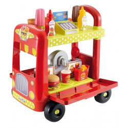 Ecoiffier - Food Truck - dînette - jeu d'imitation - 1764 - Made in France