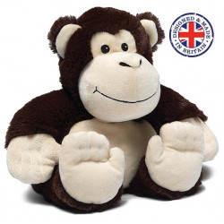 Soframar - Bouillotte sèche Singe Cozy Peluche - AR 0108 - Made in england