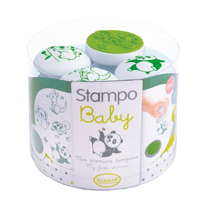 Aladine - Stampo'Baby animaux - Tampon pour enfant - 03817