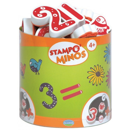 Aladine - Stampo minos chiffre - Tampon pour enfant - 85110