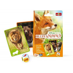 Bioviva - Bluff animals - Disneynature - Jeu de cartes - Made in France