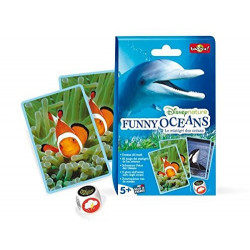 Bioviva - Funny oceans - Disneynature - Jeu de cartes - Made in France