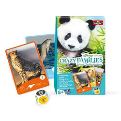 Bioviva - Crazy families - Disneynature - Jeu de cartes - Made in France