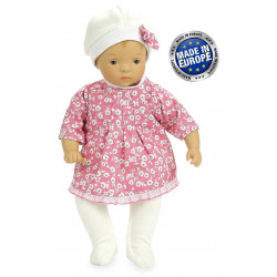 Poupée Petitcollin - Tendre dodo - Petit Câlin - Poupon - 28 cm - 622863 - Made in europe